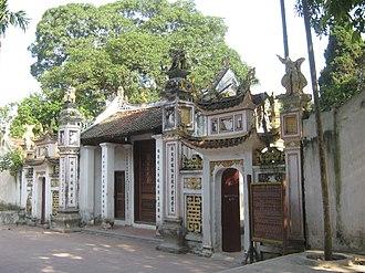 Early Lê dynasty - Temple of Hoa Xá - Minh Ngự Lâu