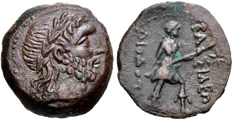 Diodotos II Ai Khanoum mint