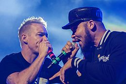 Diplo and Walshy Fire of Major Lazer @ Flow 2015.jpg