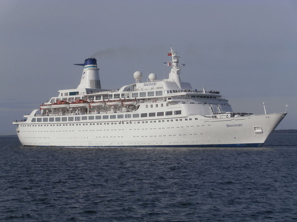 MV Discovery Wikipedia - Discovery sun cruise ship