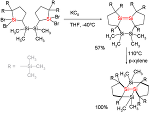 Disilene - Tricyclic Disilenes with Highly Strained Si-Si Double Bonds