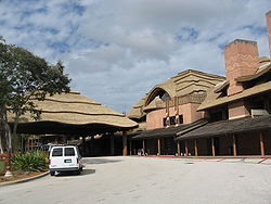 Entrée du Disney's Animal Kingdom Lodge