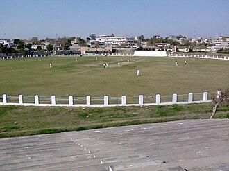 Cantonment (Pakistan) - Cricket stadium in Jhelum Cantonment