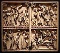 Dittico con crocifissione, deposizione, flagellazione e sepoltura di crista, parigi, 1290-1310 ca.jpg