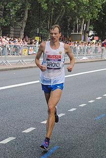 Dmitry Safronov Russian marathon runner