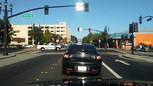 Downtown Richmond, Richmond, California - Macdonald Avenue in downtown Richmond California