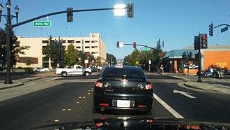 Macdonald Avenue - Macdonald Avenue, Downtown Richmond by Richmond BART station