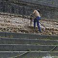Dok tijdens restauratie werkzaamheden - Hellevoetsluis - 20372140 - RCE.jpg
