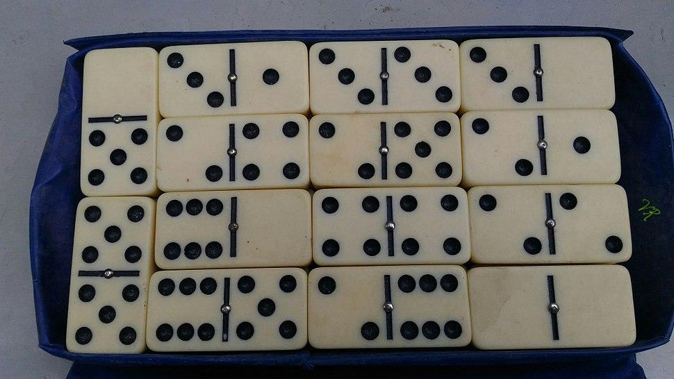 Dominoes tiles