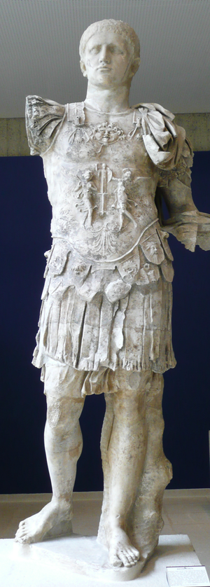 Capitoline Games - A statue of Emperor Domitian. Reigned: 14 September 81 –; 18 September 96