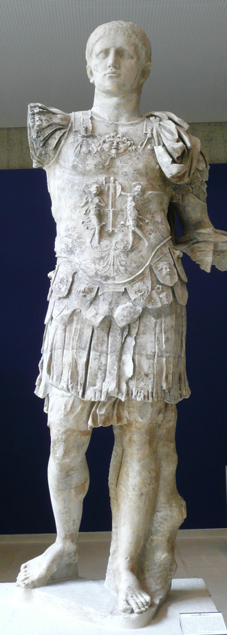Capitoline Games - A statue of Emperor Domitian. Reigned: 14 September 81 –; 18 September 96