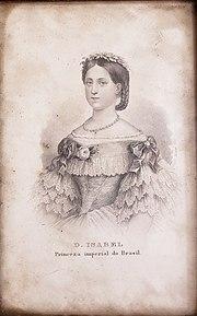 A Regente Dona Isabel.