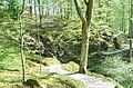 Donndorf - Fantaisie Schlosspark - künstliche Felsenquelle (15.04.2007) 01.jpg