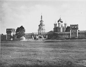 Donskoy Monastery - Donskoy Monastery in 1883.