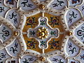 Doorway's ceiling. Zsolnay ceramic decoration. Museum of Applied Arts. 20130613 Budapest 17.jpg