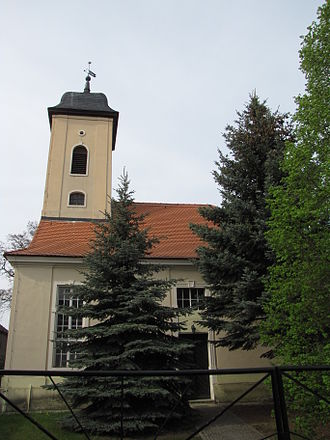 Zossen - Church in Schünow