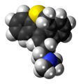 Dosulepin molecule spacefill.png