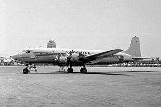 LAN Chile Flight 107 - Image: Douglas DC 6B, Lan Chile JP7769666