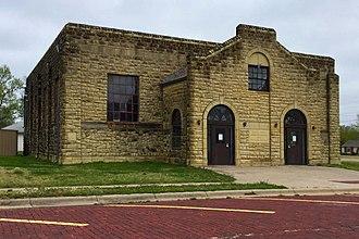 Douglass, Kansas - Douglass township community building (2017)