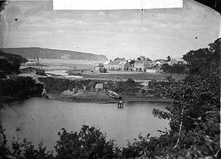Down the river, Abersoch