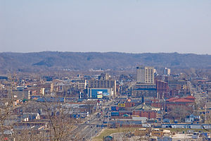 Eastern Kentucky Coalfield - Ashland, the region's largest city.