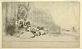 Drawing, Children Playing at the Seaside, Cullercoats, England, 1881–82 (CH 18175391).jpg