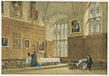 Drawing, View of the Dining Hall in Magdalen College, Oxford, 1856 (CH 18708211).jpg