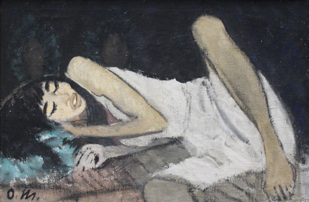 File:Dresden, Albertinum, Otto Mueller, Liegende in Weiß ...