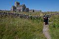 Drew at Iona Abbey (15247746081).jpg