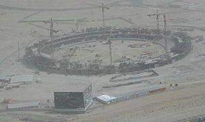 2014 Indian Premier League - Image: Dubai Sports City on 1 May 2007 Pict 1