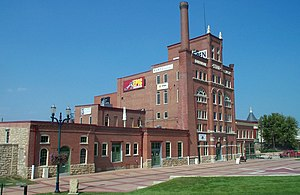 Port of Dubuque - Dubuque Star Brewing Company Building, 2007.