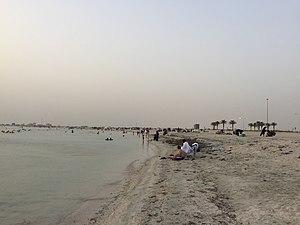 Dukhan - Dukhan public beach.