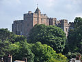 Dunster Castle from the High Street.jpg