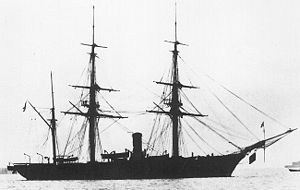 Corvette - French steam corvette Dupleix (1856–1887)