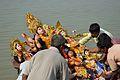 Durga Idol Immersion - Baja Kadamtala Ghat - Kolkata 2012-10-24 1344.JPG