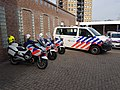 Dutch Police motorcycle, car with KMAR motorcycle 01.jpg