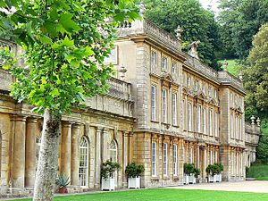 Wives and Daughters (1999 miniseries) - Dyrham Park house where some of the exterior scenes were filmed