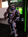 E3 2011 - IntensaFire booth Master Chief soldier (5822679972).jpg