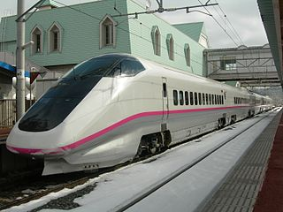 Japanese high speed train type
