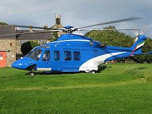 Haughey Air AgustaWestland AW139 crash - An AgustaWestland AW139, similar to the accident aircraft.