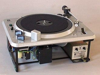Elektro-Mess-Technik - EMT 930 Turntable