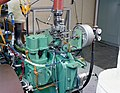 ENGINE AND DYNAMOMETER IN THE ENGINE RESEARCH BUILDING ERB TEST CELL SE-12 - MEIS EQUIPMENT IN TEST CELLS SE-9 AND SE-11 - NARA - 17499504.jpg