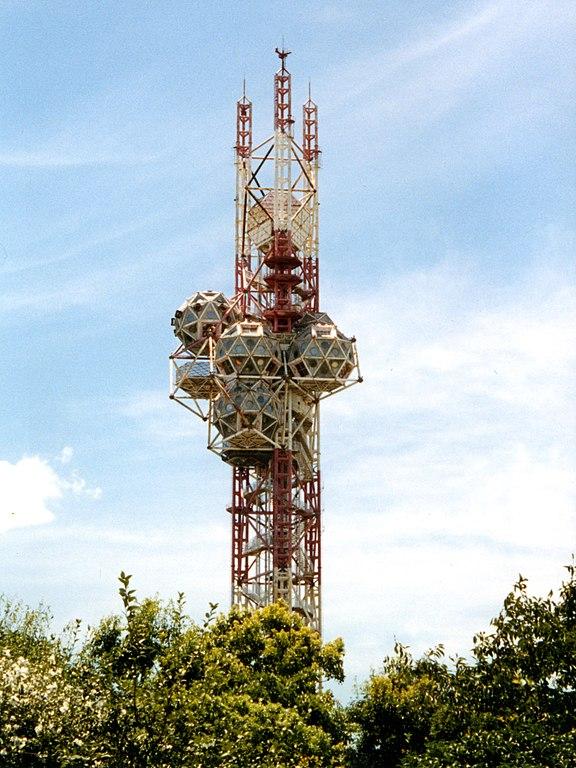 菊竹清训为1970年大阪万博会设计的Expo Tower(图片来源:wiki)