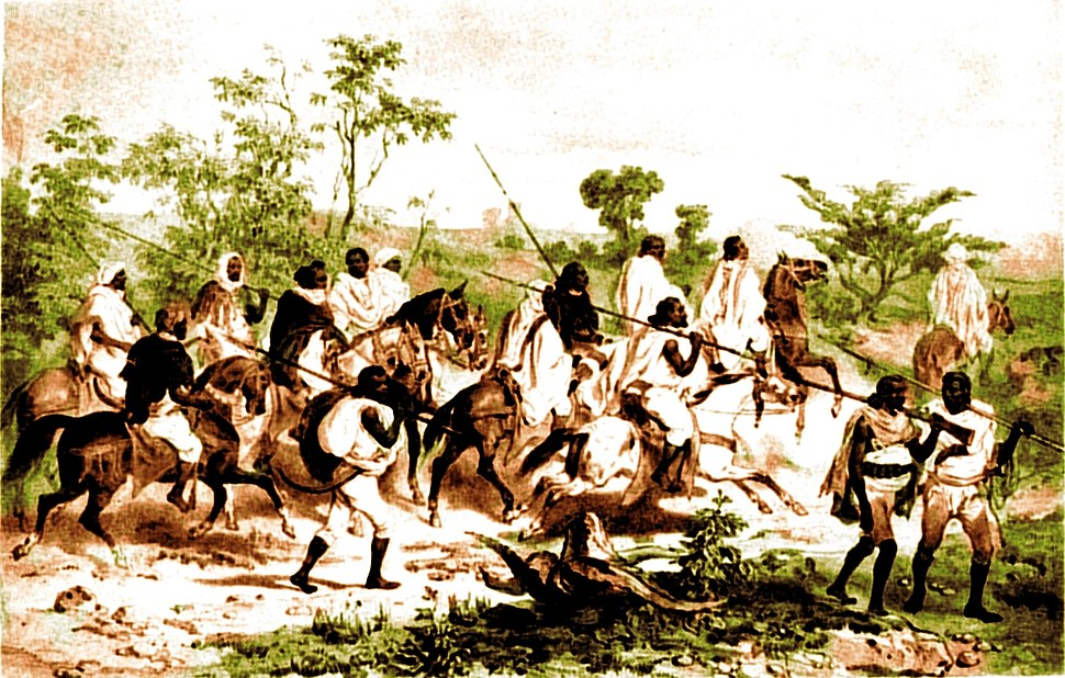 Early nineteenth century warriors Colour