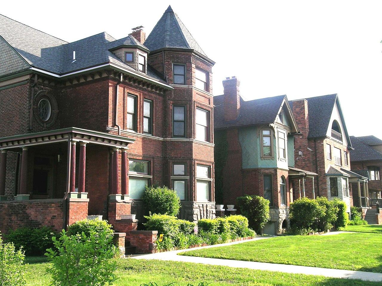 File East Ferry Avenue Historic District 1 Detroit