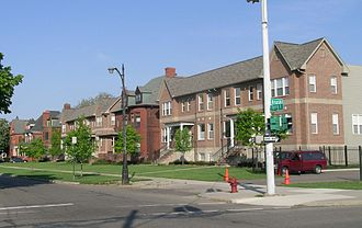 East Ferry Avenue Historic District - Image: East Ferry Avenue Historic District 3 Detroit Michigan