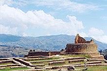 Il sito archeologico Inca di Ingapirca, localizzato nel cantone di Cañar.