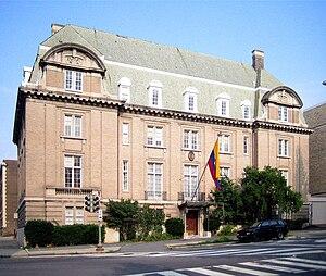 Embassy of Ecuador in Washington, D.C. - Image: Ecuadorean Embassy in Washington, D.C. (15 07 2006)