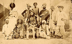 Various ethnic and religious types in the Middle East, 19th century