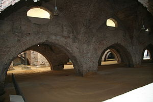 Seville Royal Dockyards - Remains of the dockyards